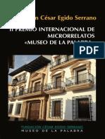 II Premio Internacional de Microrrelatos Museo de La Palabra