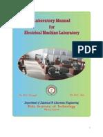 Machine Laboratory Manual - II