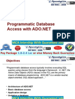 Accessing Database Programmaticaly In ADO.NET