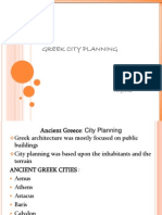 Greek City Planning