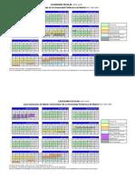calendario escolar 2014-15 UPM