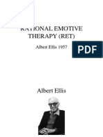 Rational Emotive Therapy (Ret)