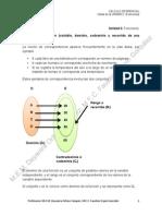 Notas Unidad II Funciones