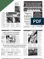 Diario El mexiquense 3 Noviembre 2014