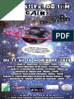 Programme 5ème festival du film précaire d'Avignon - 2014