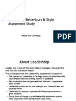 Leadership Behaviour
