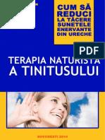Terapia Naturista a Tinitusului