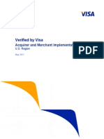 Verified by Visa Acquirer Merchant Implementation Guide