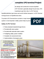 P & ID for Complete LPG Terminal Project