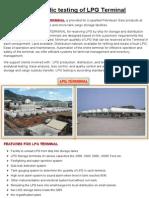 Periodic Testing of LPG Terminal