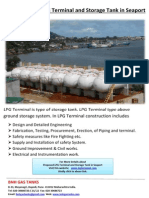 Proposed LPG Terminal and Storage Tank in Seaport