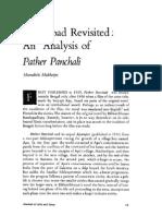 An Analysis of Pather Panchali