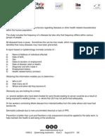 Unit 7 Epidemiology Explanation