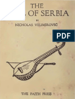 The Soul of Serbia ( 1916.) - Nicholai Velimirovic