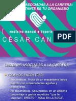 Lesiones en el Corredor Montaña, por El Dr. Cesar Canales