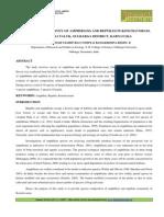 3.Applied-The Priliminary Survey of Amphibians and Reptiles in Konchavoram-Shravankumar Namdevrao Tompe