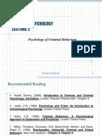 Lecture S4Psychology of Criminal Behaviour.ppt