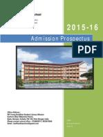 prospectus 2015-16