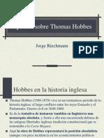 Apuntes Sobre Thomas Hobbes.