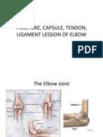 Fracture, Capsuaegele, Tendon, Ligament Lession
