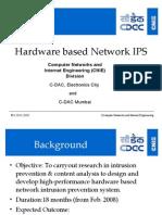 Hardware Based Network IPS