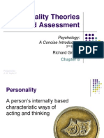 Griggs Chapter 08 Personality Theories Assessment DP