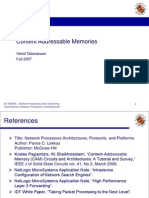 Content Addressable Memory