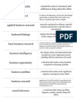 Business Research Methods Ch.1