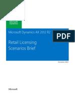 Microsoft Dynamics Ax 2012 r2 Retail Licensing Scenarios Briefcustomereditiondec2012