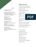 Lirik Lagu Batak