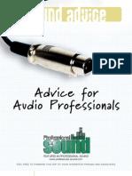 21544583 Advice for Audio Professionals