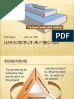 Lean construction principles powerpoint