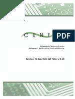 Manual de Procesos del Taller v 4.10