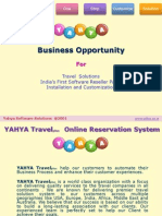 Yahya Travel Booking Software