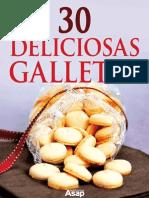 30 Deliciosas Galletas (Spanish - Sylvie Ait-Ali