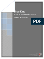 Business Model Report on Shoe King