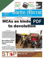 Ghetto Mirror Issue 13 November 2014