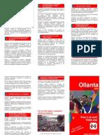 10 puntos - Plan de Gobierno - Partido Nacionalista Peruano - 2006