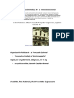 Organización Política de Venezuela en la EPpoca Colonial.docx