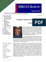 ISSMGE Bulletin Volume 4 Issue3