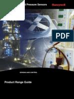 Honeywell Sensing Pressure Force Flow Rangeguide