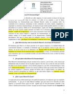 Cuestionario sobre la Fenomenología de Husserl