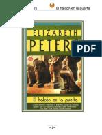 Elizabeth Peters - Serie Amelia Peabody 11 - El Halcón en La Puerta