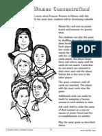 Famous Women Concentration