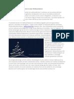 Tradition Und Moderne Vereint in Einer Weihnachtskarte