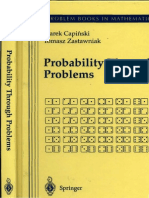 [Marek Capinski, Tomasz Jerzy Zastawniak] Probability Through Problems