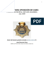 Coet Temario Cabo PM Getafe 2009