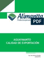 Aguaymanto (Physalis peruviana) Calidad de Exportación - Alimantta