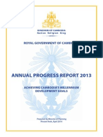 CMDG Annual Progress Report 2013 En_Final