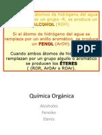 Alcoholes Fenoles y Éteres